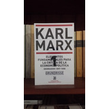 Grundisse Elementos Fundamentales Crítica Economía Karl Marx