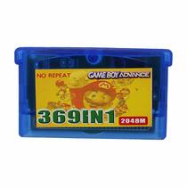 Gbc Gba Gb 369 Jogos Game Boy Advance Sp Raro