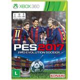 Pro Evolution 2017 Pes17 Em Português Mídia Física Xbox 360