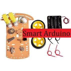 Chasis De Auto Inteligente 2 Ruedas Y Motor Smart Arduino