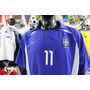 Camiseta Selección Brasil, 2002. Ronaldinho.