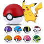 9 Pokeball + 9 Figuras Envio Gratis Pokemon Lote Pokebola