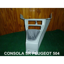Bajo Consola Gris Palanca De Cambios Peugeot 504 Sr
