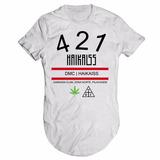Camiseta Damassaclan Haikaiss Rap Dmc Longline 10af408306d