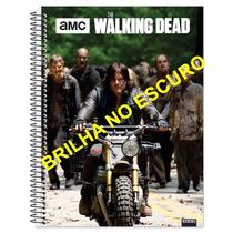 Caderno The Walking Dead - 96 Folhas Queima De Estoque
