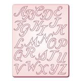 Gabarito P/corte Alfabeto Maiusculo 1 Di066 Tec