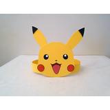 Vinchas De Goma Eva Pikachu - Pokemon - Cotillón Infantil