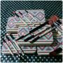 Set 12 Brochas Mac Base,polvo, Rubor Maquillaje Profesional