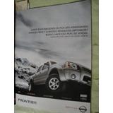 Publicidad Nissan Frontier Año 2005