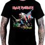 Camiseta Iron Maiden - The Trooper (preta)