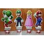 10 Enfeites De Mesa De Aniversário Tema Super Mario