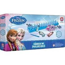 Brinquedo Fábrica De Pulseiras Frozen Faz De Verdade Estrela