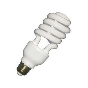 Foco Fluorescente Ahorrador 28w Blanco Calido E27 Lampara