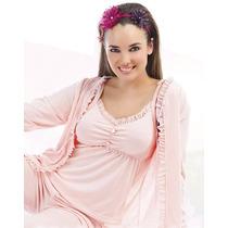 Pijama 3 Piezas Modal - Bianca Secreta
