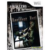 Resident Evil Archives Wii De Colección Físico Nuevo Sellado