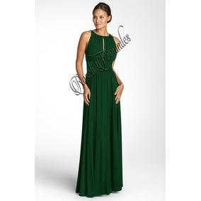 Vestido longo verde mercado livre