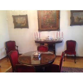 Juego de comedor para 12 personas muebles antiguos en for Muebles antiguos argentina
