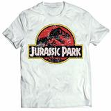 Camiseta Jurassic Park Parque Dos Dinossauros