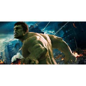 Painel Decorativo Festa David Banner Hulk [2x1m] (mod5)