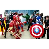 Vengadores Figuras Articuladas Ironman Cap America Thor Hulk