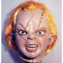 Chucky Mascara Latex Halloween Terror Muñeco Maldito