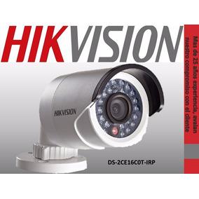 Camara Hd Hikvision Dual 720p Y 700tvl Ir Ds2ce16c0tirp Ext