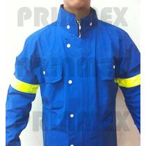 Impermeable Para Motociclista Modelo California Azul Rey