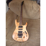 Guitarra Ibañez S Series , Modelo S670pb-ntf ., Indonesia ,