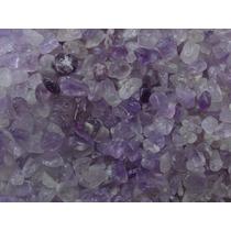 Pedras De Ametista Semi-roladas Excelente Brilho 1kg