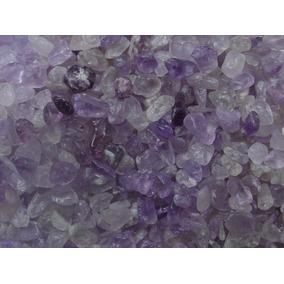 Pedras De Ametista Semi-roladas Boa Coloração 1kg Orgonite