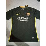 Camisa Do Barcelona Versão Jogador 13/14 Tamanho M Original