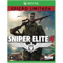 Sniper Elite 4 Xbox One Mídia Física Novo Totalmente Em Ptbr