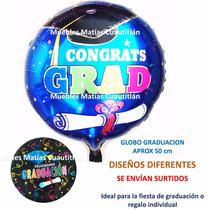 Lote 100 Pzas Globo Graduacion 50 Cm Envio Gratis Fiesta
