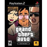 °° Grand Theft Auto Trilogy Para Ps2 °° Gta Bnkshop