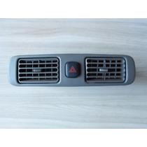 Difusor De Ar Central Corolla 98 Á 02 C/ Botão Alerta