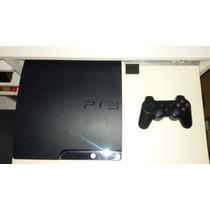 Playstation 3 Flasheada + 1 Joystick + Cable Hdmi+ 6 Juegos