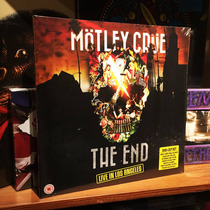 Mötley Crüe The End Live In Los Angeles 2 Vinilos + Dvd