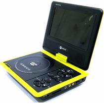 Dvd Portátil Mox Mo-7065 7 Polegadas Preto E Amarelo