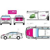Placas Taxi Cdmx