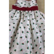 Hermoso Vestido De Navida Para Niña Usado