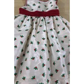 hermoso vestido de navida para nia usado