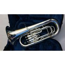 Bombardino Euphonium Yamaha Ybb321s Prata Si Bemol Lindo....