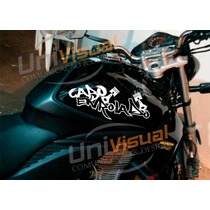 Adesivo Cabo Enrolado 37,5cmx15cm Frete Grátis Motos Carros