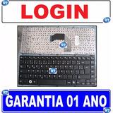 Teclado Notebook Login Compal Pk130lj1d30 2b-03603c230 Br Ç