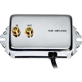Amplificador De Señal De Antena Uhf Vhf Fm 10db Tv Booster