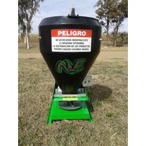 Sembradora De Pasturas - Fertilizadora Al Voleo 2 Motores