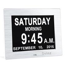 Nuevo Reloj Con Alarma Doble - Día Svinz Calendario Reloj D