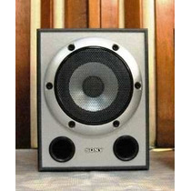 Vendo Caixa Sony Muteki Cor Prata - 185w