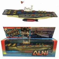 Porta Aviones 39 Cm U.s. Navy Barco De Juguete Para Chicos