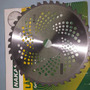 Disco De Vídea Para Roçadeiras 25,5mm Com 40 Dentes